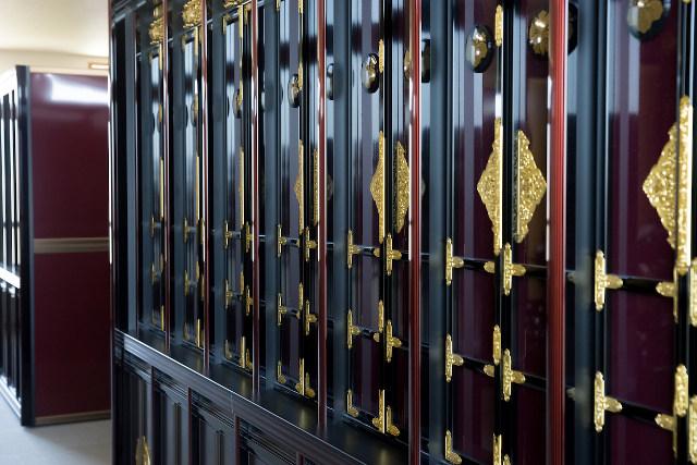 納骨堂の内部